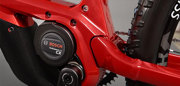E-bikes avec moteurs Bosch
