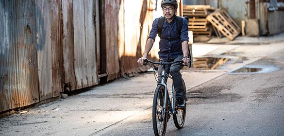 Vélos urbains Marin