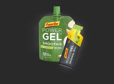 Gels & Smoothies PowerBar